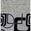 Elegance Grey (квадрат)/Sun 08 (серая рогожка)
