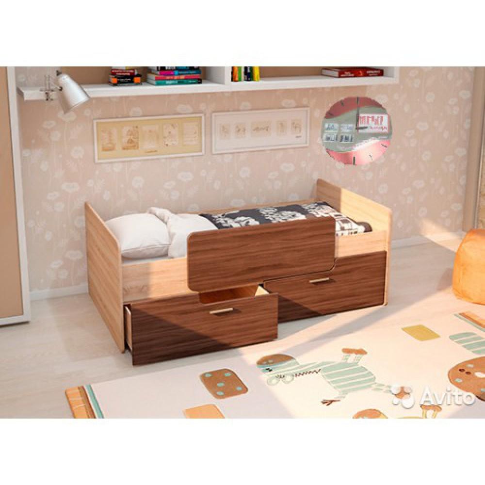 """Детская кровать """"Умка - 1,6"""" с матрасом"""