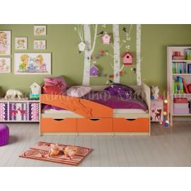 """Детская кровать """"Дельфин"""" 1,8м с матрасом"""