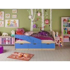 """Детская кровать """"Дельфин"""" 2м с матрасом"""