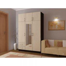 Шкаф 3-х створчатый с двумя ящиками