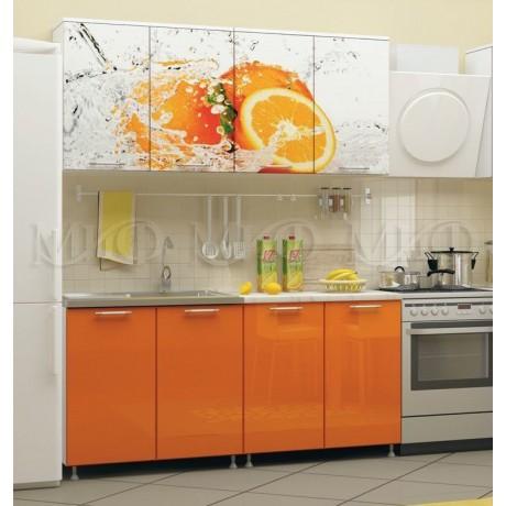 "Кухня ""Апельсин"" (ЛДСП) 1,6 м"