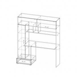 Стол компьютерный ПКС-1 (тип 1)