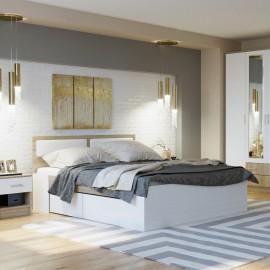 """Кровать """"Беатрис"""" 1,4м с 4 ящиками"""
