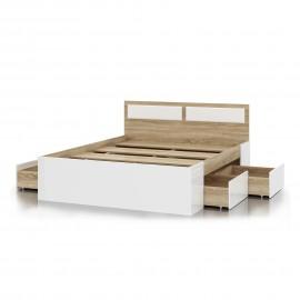 """Кровать """"Беатрис"""" 1,6м с 4 ящиками"""