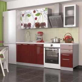 """Кухня """"Олива Вишня"""" 1,6м"""