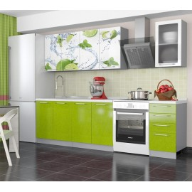 "Кухня ""Олива Лайм"" 1,6м"