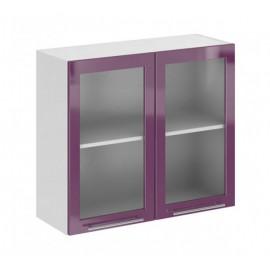 ШВС 800 Шкаф верхний стекло кухня София