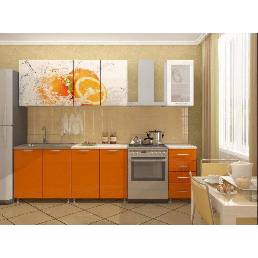 "Кухня ""Апельсин"" (ЛДСП) 2м"