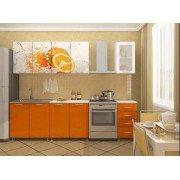 Кухня Апельсин (ЛДСП) 2м