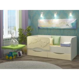 """Детская кровать """"Дельфин-2"""" 1,6 м с матрасом"""