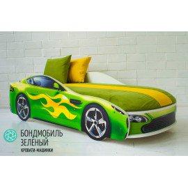 """Детская кровать-машинка """"Бондмобиль"""" с матрасом"""